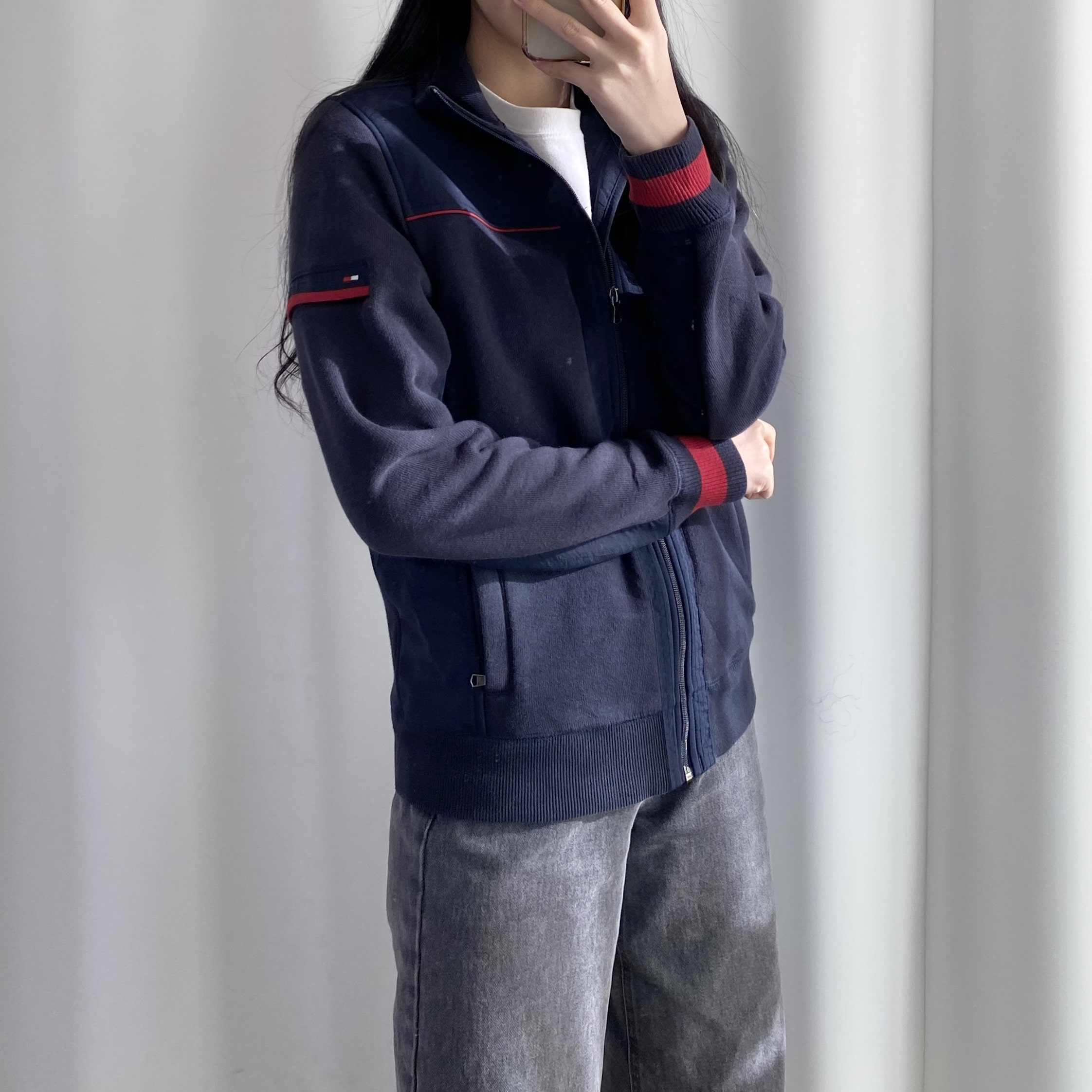 Tommy Zip-up Knit (A509)